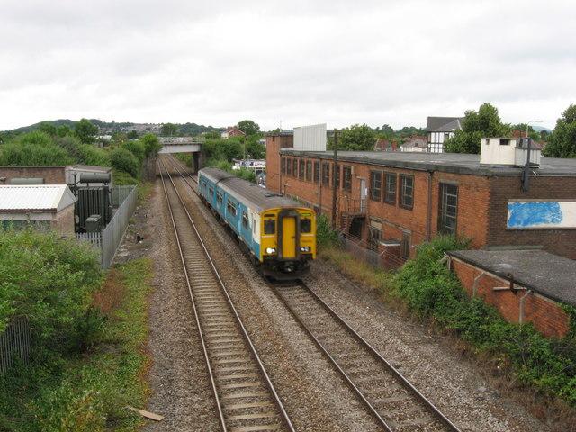 South Wales Main Line, near Canton, Cardiff