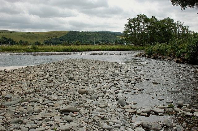 Yarrow Water meets the Ettrick
