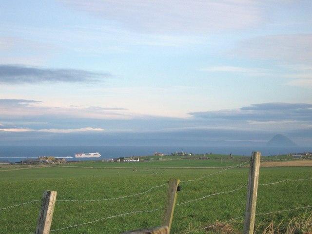 Fields on Knocknassie Hill