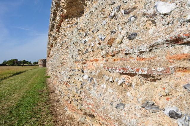 Roman Walls at Burgh Castle