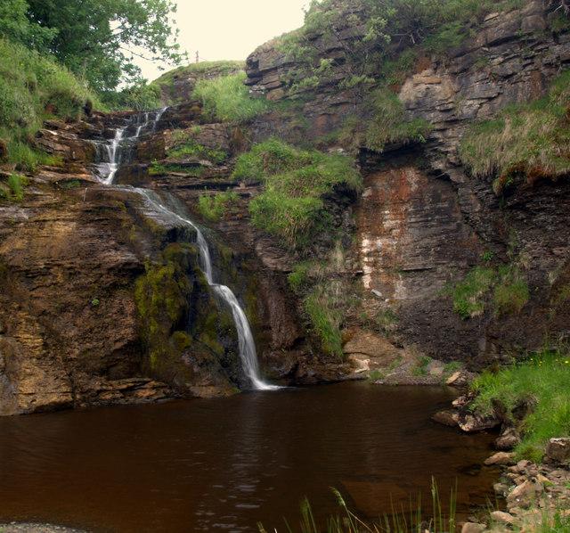 Waterfall, Borrowdale Beck