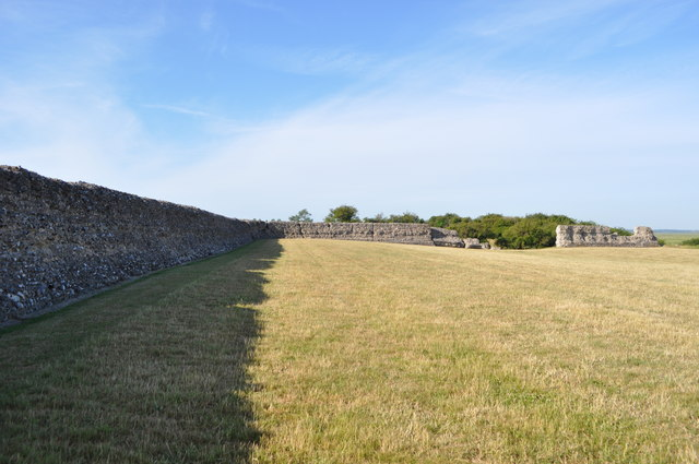 Burgh Castle Norfolk