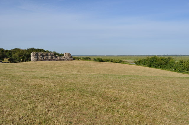 The Site of the Motte and Bailey Castle