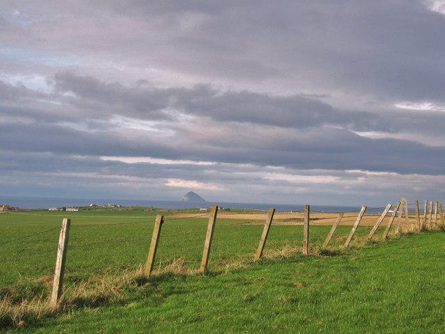 A fence on Knocknassie Hill