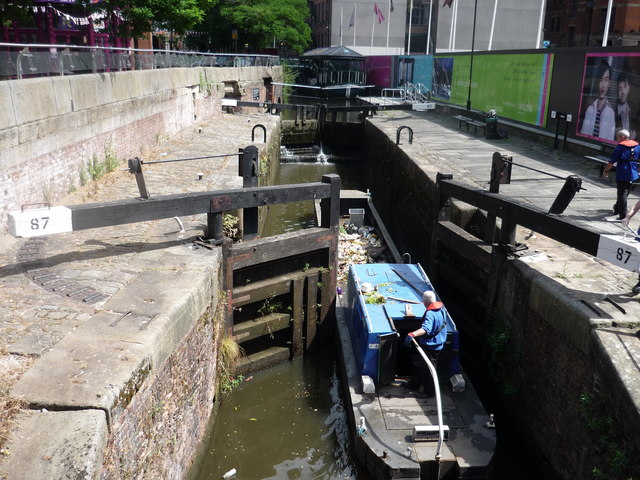 Lock 87, Rochdale Canal, Manchester