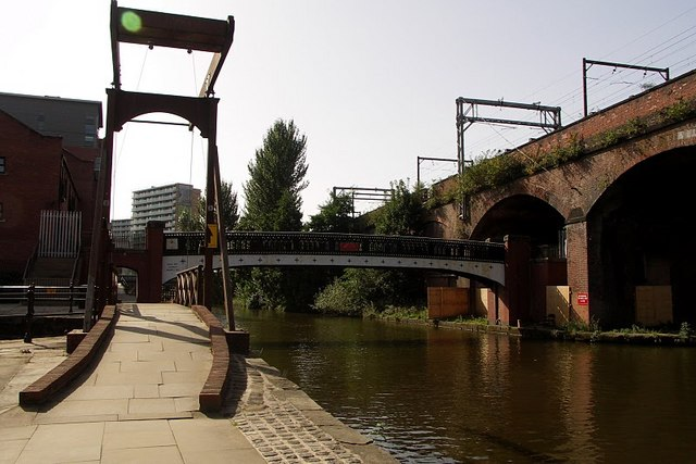 Canal & Railway viaduct, Castlefield