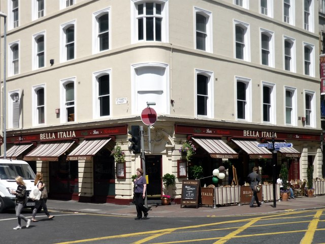 Restaurant, Deansgate, Manchester