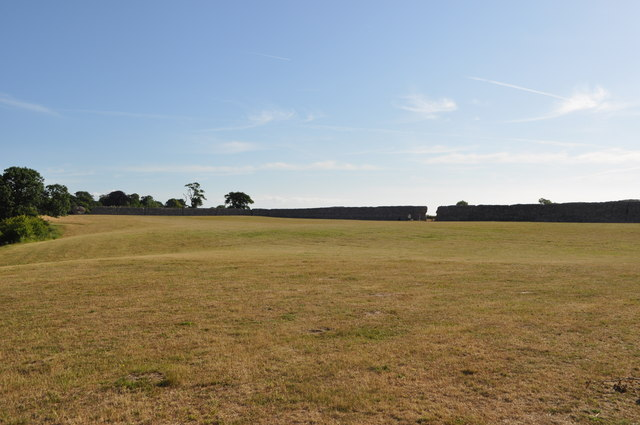 View from the levelled castle