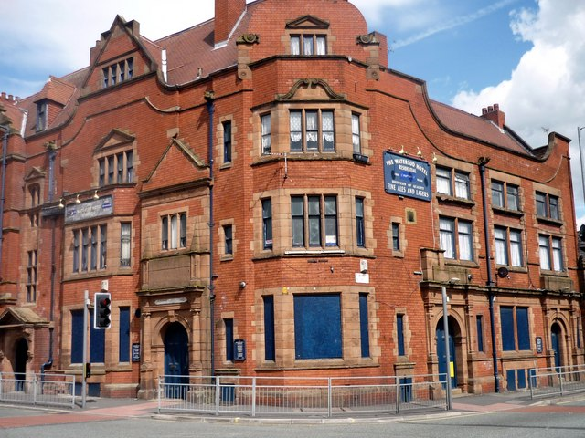 Disused hotel, Waterloo Road, Manchester