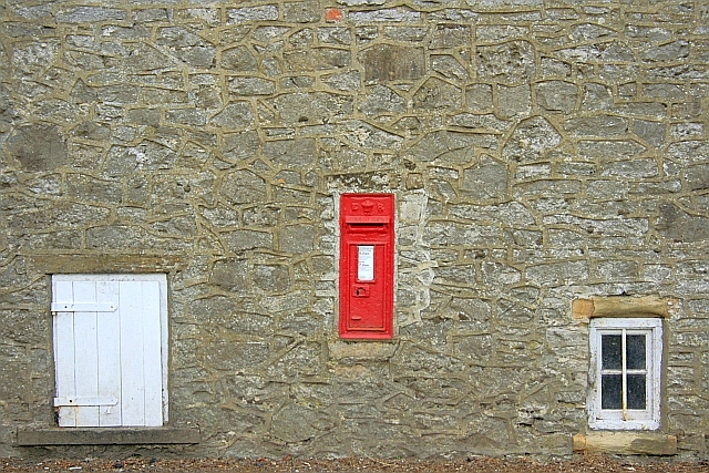 Postbox, Little Longstone