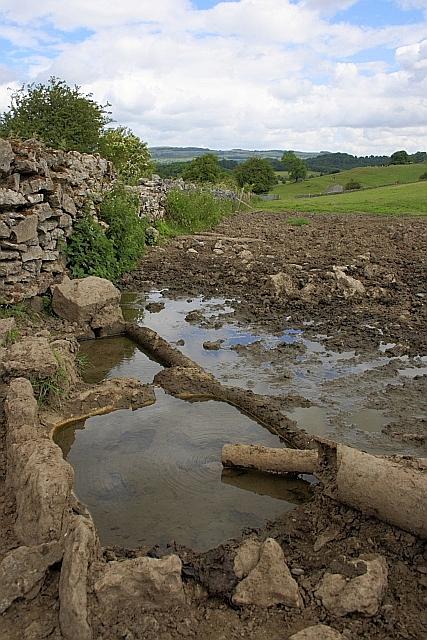 Broken Cattle Trough, Crowhill Lane