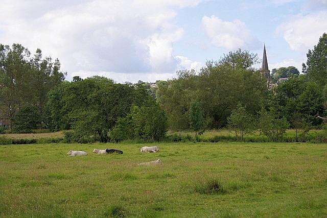 Meadows Alongside the River Wye