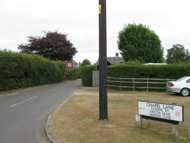 Chapel Lane, East Boldre