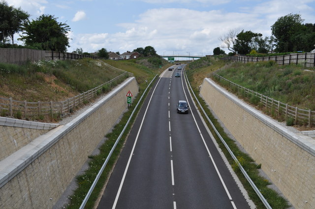 The new Osgodby A165 bypass