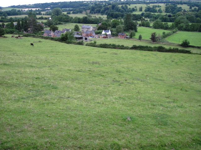 Footpath towards Mapleton