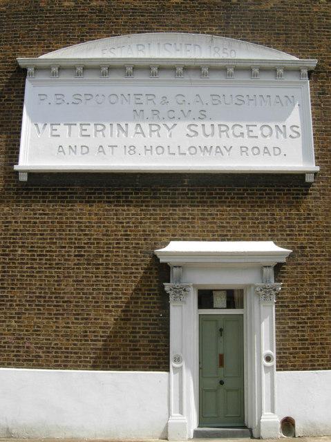 Spooner & Bushman - veterinary surgeons of Islington