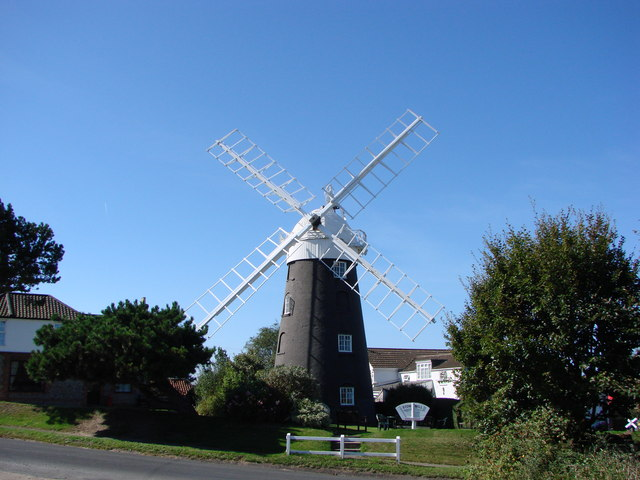 Stow Mill at Paston, Norfolk