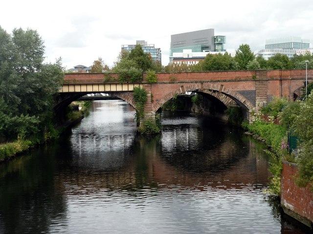 Railway bridge, Salford