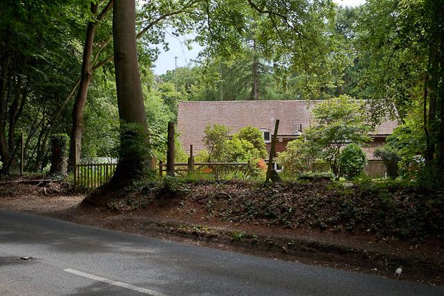House named Amberwood, Jermyns Lane
