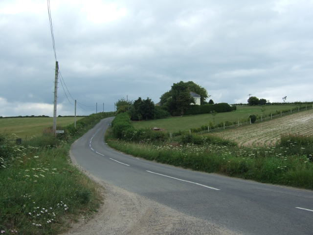 The road to Hampton and Muckleford
