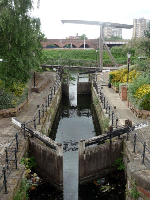 Lock, Manchester & Salford Junction Canal