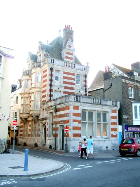 An elaborate facade in Weymouth