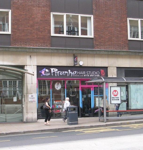 Google Maps Business >> Piranha Hair Studio - Eastgate © Betty Longbottom cc-by-sa/2.0 :: Geograph Britain and Ireland