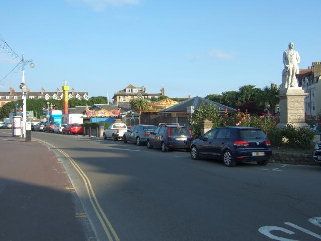 Fairground in Weymouth