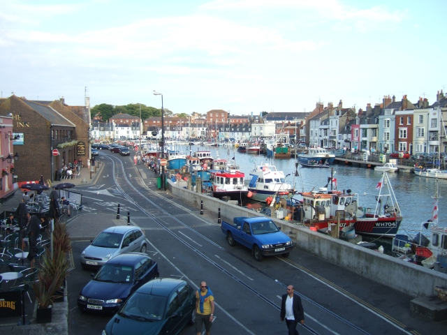 The view from Town Bridge, Weymouth