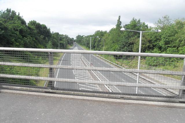 Golden Way from Cop Lane Bridge