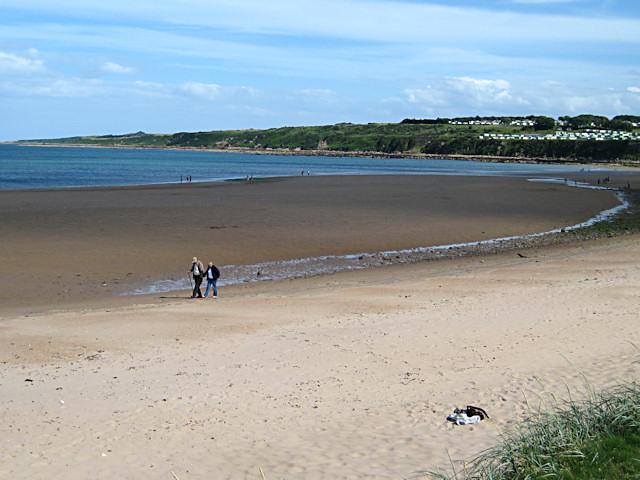 East Sands at low tide