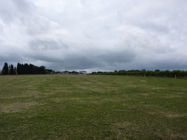 Manor Farm and field