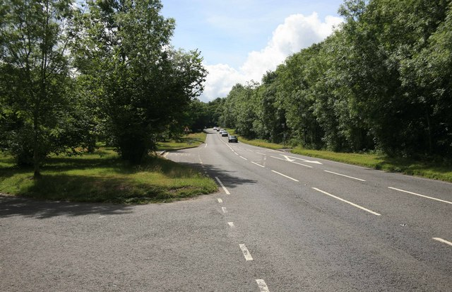 The A386 Tavistock to Plymouth Road