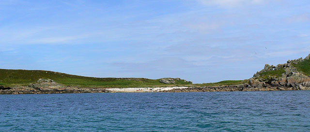 West Porth, Great Ganilly in the Eastern Isles, Scilly