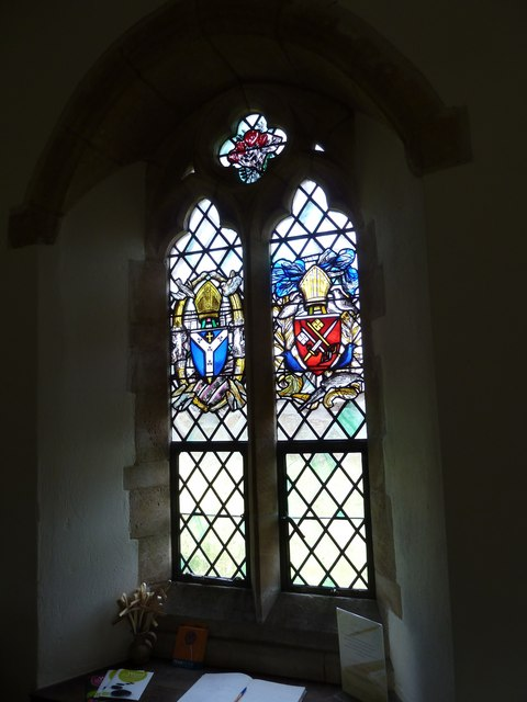 All Saints, Dibden- stained glass window (2)