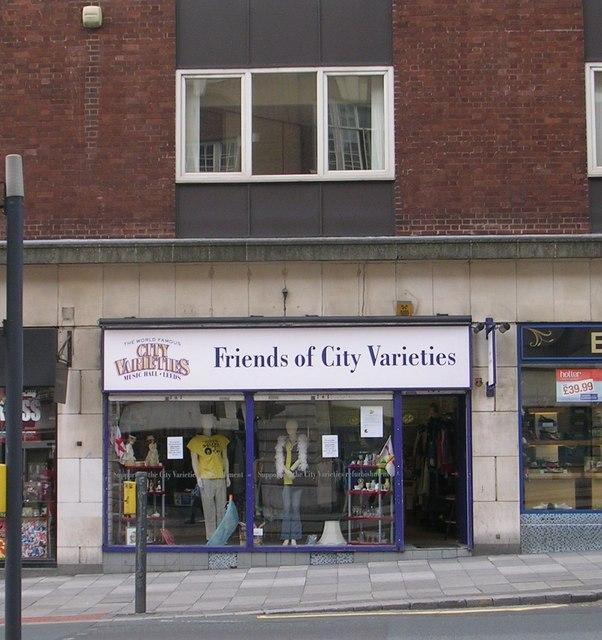 Friends of City Varieties - Eastgate