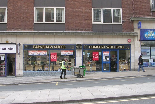 Earnshaw Shoes - Eastgate