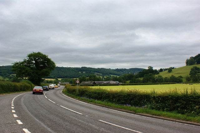 The A6 near Rowsley