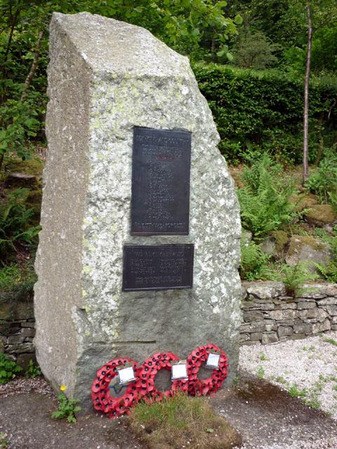 War memorial, Glenridding