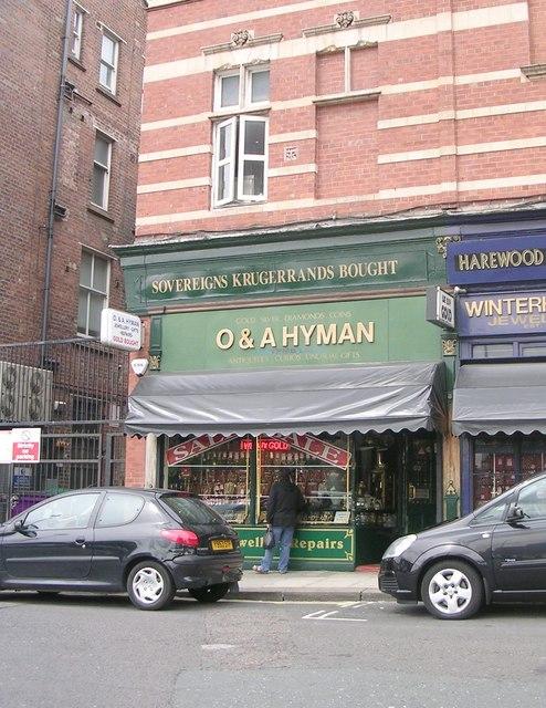 O & A Hyman Jewellers - Harewood Street