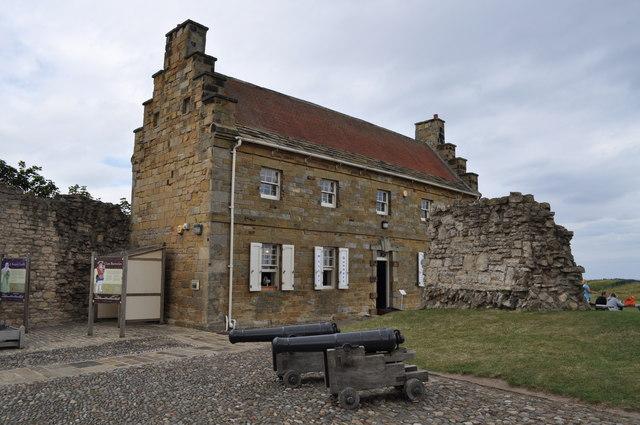 Scarborough Castle cafe