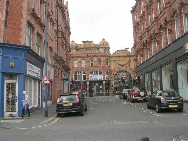 Sidney Street - Harewood Street