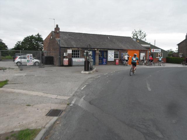 Old Garage - Blackleach Lane