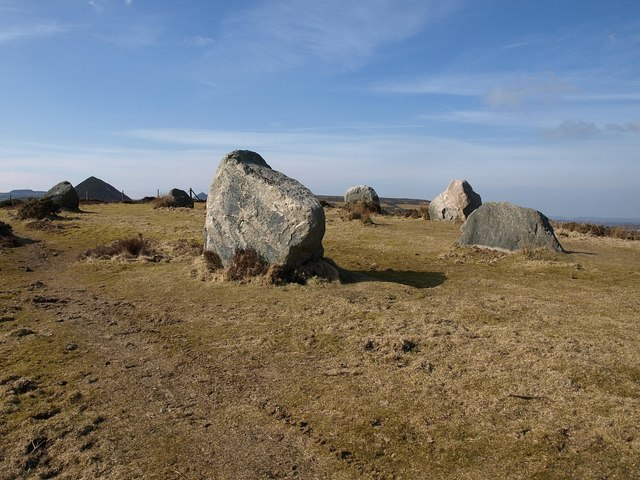 Stone circle, Great Carclaze