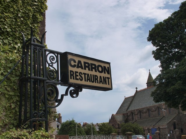 Art Deco Restaurant Sign
