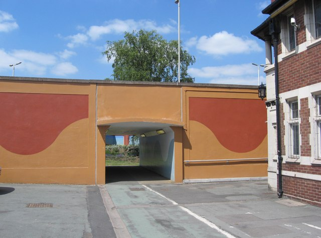 Underpass under St. John's Road