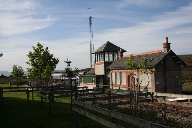 Corrour Station buildings