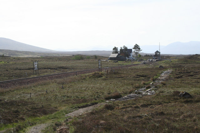 Lonely Corrour Station