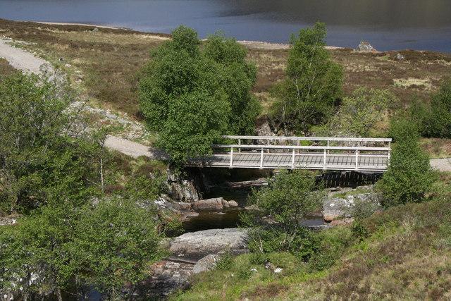 Bridge over the Allt a'Chamabhreac