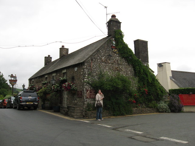 Maenllwyd Inn, Rudry
